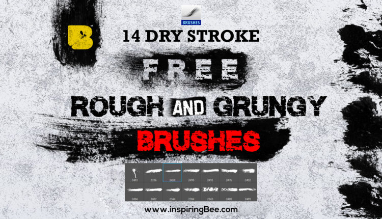 Rough and Grungy Brushes (Paint stroke, Paint Splatter)