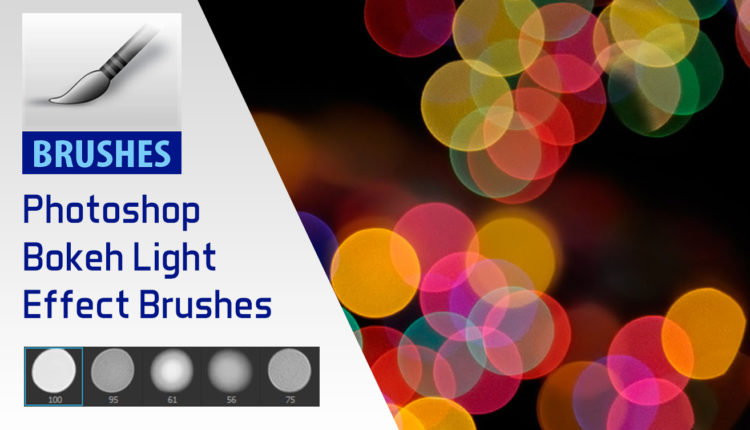Bokeh Light Effect Free Photoshop Brushes