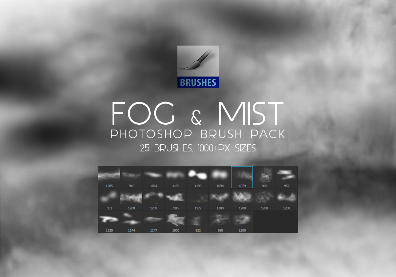 photoshop how to create mist effect