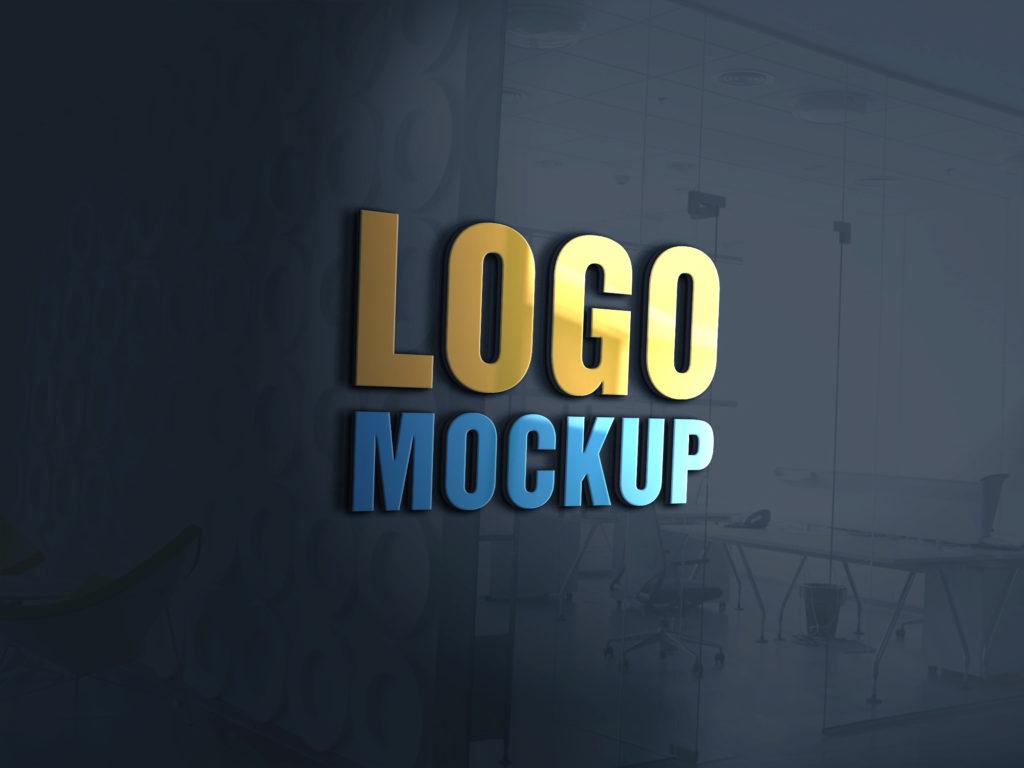 25+ Best Free Logo Mockup PSDs to presenting your design