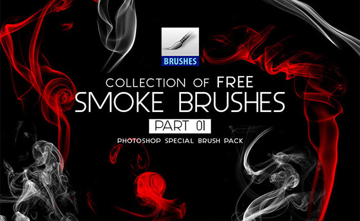 Collection of Free Smoke Photoshop Brushes Part 01