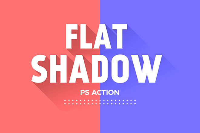 Easily Create Long Shadows 3D Flat Shadow – Ps Action