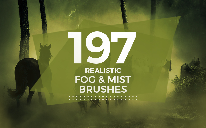 Free 197 Fog & Mist Photoshop Brushes Collection • Inspiring Bee