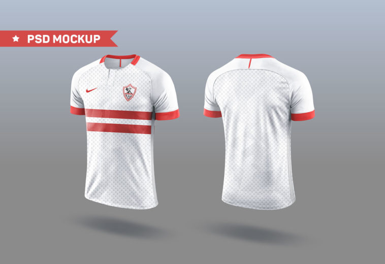 Updated 18 Free Jersey Mockup Psd And Sports Kits Mockup Psd